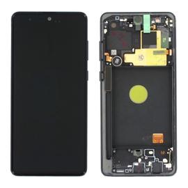 Mobilo tālruņu rezerves daļas Samsung GH82-22055A, melna