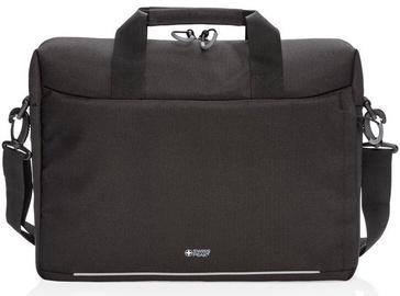 Сумка для ноутбука Swiss Peak, черный, 15.6″