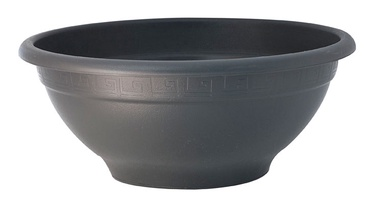 PlastiCotto Plastic Flower Pot 50x24cm Black