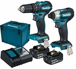 Makita DLX2221JX2 Set