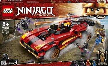 Конструктор LEGO Ninjago Ниндзя-перехватчик Х-1 71737, 599 шт.