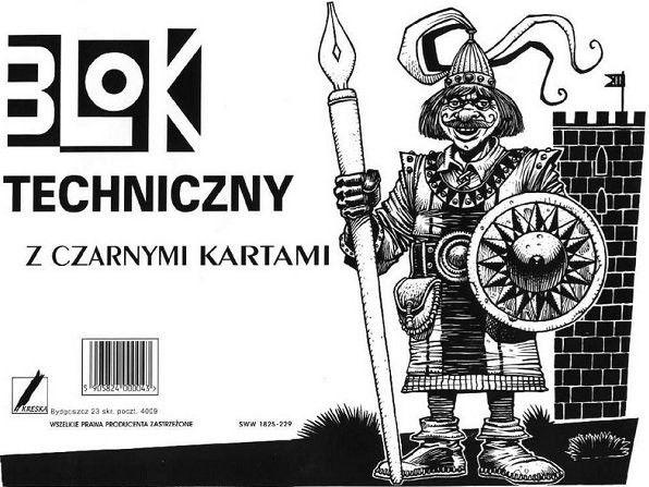 Kreska Drawing Album A4 Black And White