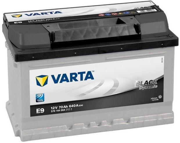 Varta Black Dynamite E9 70Ah