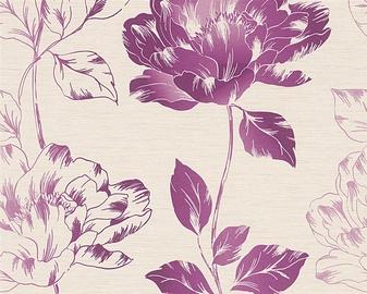 Flizelīna tapete 95881-5, ar sarkanām puķēm(12)