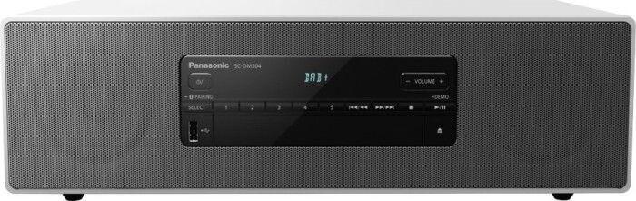 Музыкальный центр Panasonic SC-DM504EG-W, 40 Вт