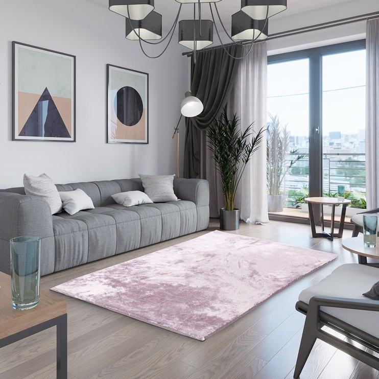 Paklājs AmeliaHome Lovika, rozā, 200x140 cm