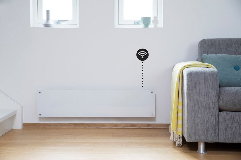 Mill Glass AV800LWIFI WiFi Panel Heater