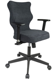 Entelo Nero Black Office Chair AT04 Navy Blue