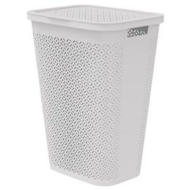 Curver Terrazzo Laundry Basket 55l White