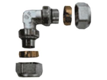 Išardomoji alkūnė TDM Brass 26 mm x 3 mm