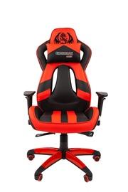 Игровое кресло Chairman Game 25, черный/красный