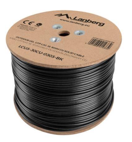 Lanberg Cable CAT 5e UTP 305m Black