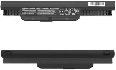 Qoltec Long Life Notebook Battery For Asus K53S/X53S 6600mAh