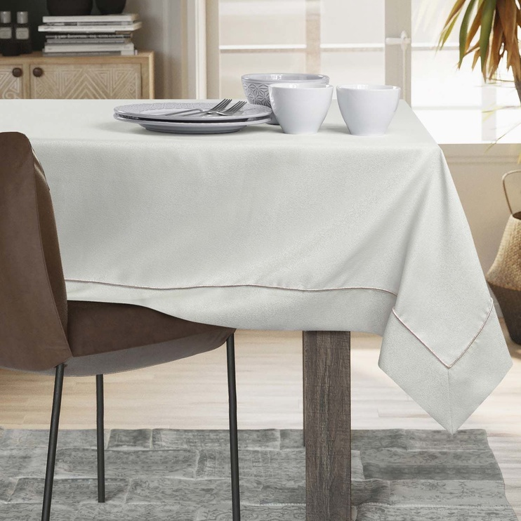 AmeliaHome Empire Tablecloth PPG Cream 140x220cm