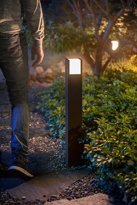 Светильник Philips Fuzo, 1x15Вт, 2700°К, LED, IP44, черный