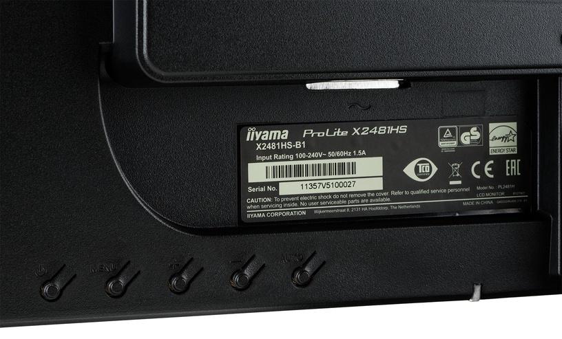 Monitorius Iiyama ProLite X2481HS-B1