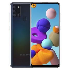 Išmanus telefonas Samsung Galaxy A21S juoda