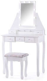 Homede Atalia Dressing Table w/ Mirror White