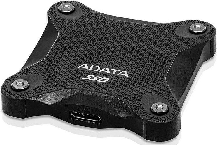 Жесткий диск ADATA SD600Q, SSD, 240 GB, черный