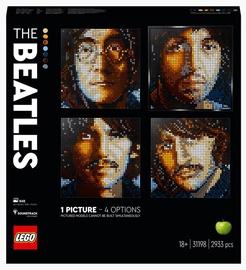 Конструктор LEGO Art The Beatles 31198, 2933 шт.