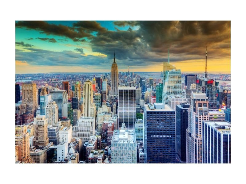 Signal Meble New York Glass Painting 120x80cm