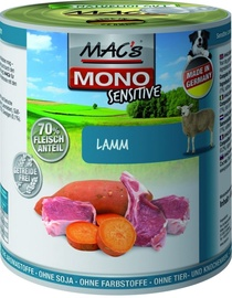 Mac's Mono Sensitive Lamb 800g