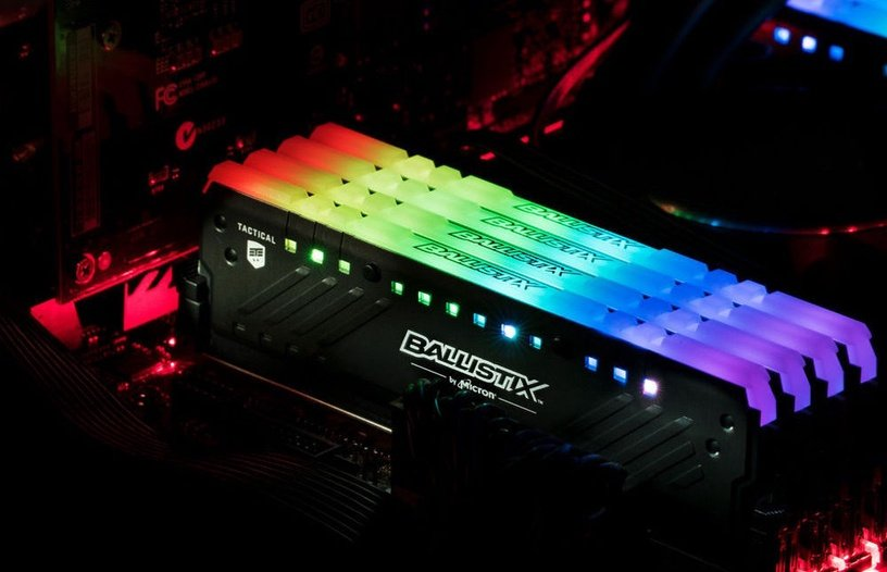 Crucial Ballistix Tactical Tracer RGB 32GB 2666MHz CL16 DDR4 KIT OF 2 BLT2C16G4D26BFT4