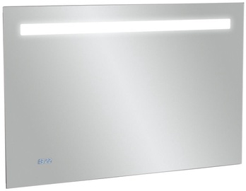 Kohler Replay LED Mirror w/ Digital Clock 100x65cm