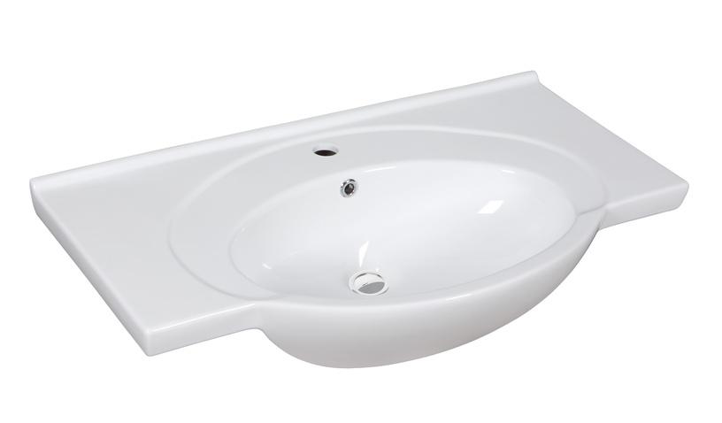 Vannitoakapp Riva SA80-10, valge