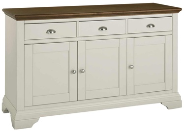 Home4you Chest Of Drawers Hampstead Antique White/Walnut