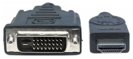 Manhattan Monitor Cable HDMI to DVI-D Black 3m