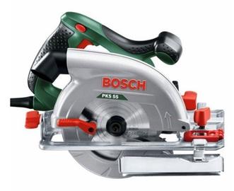 Elektrinis diskinis pjūklas Bosch PKS 55, 1200 W