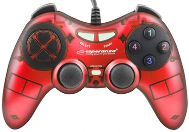 Esperanza Fighter USB Gamepad Red