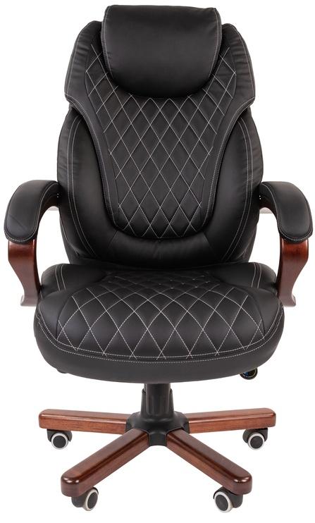 Офисный стул Chairman 406, коричневый/черный