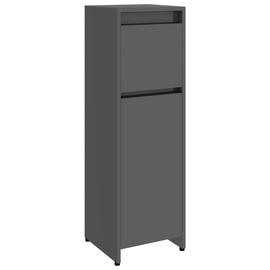 Шкаф для ванной VLX 802668, серый, 30 x 30 см x 95 см