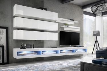 ASM Fly U1 Living Room Wall Unit Set White