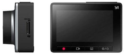 Xiaomi Yi Smart Dash Camera Car DVR Gray