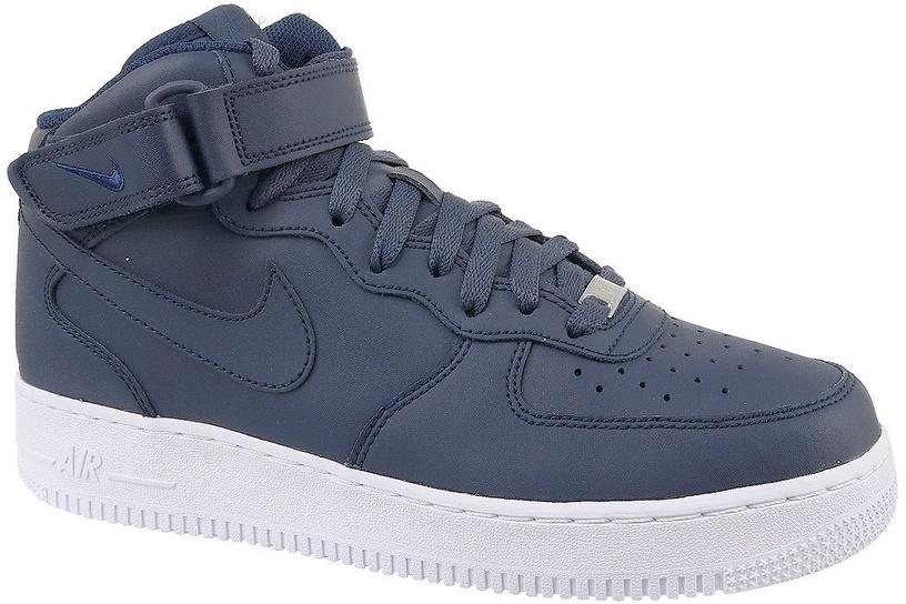 Nike Sneakers Air Force 1 Mid `07 315123-415 Blue 44.5