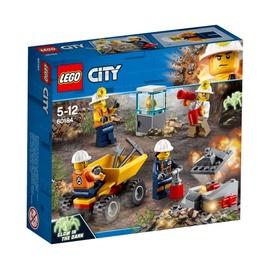 Konstruktor LEGO City, Kaevandusmeeskond 60184