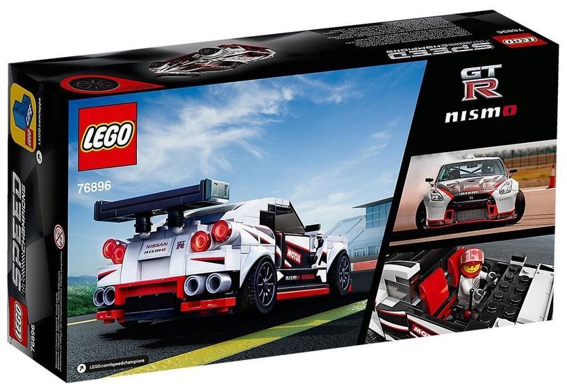 Конструктор LEGO Speed Champions Nissan GT-R Nismo 76896 76896, 298 шт.