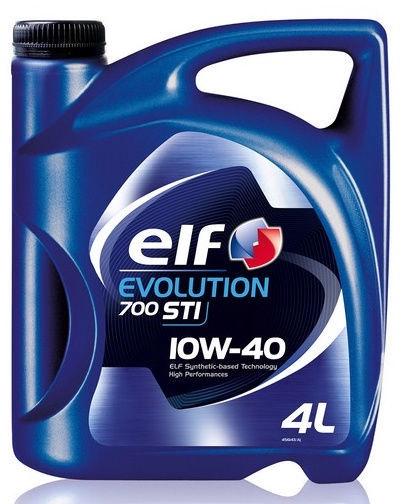 Машинное масло Elf Evolution 700 STI 10W - 40, полусинтетическое, для легкового автомобиля, 4 л