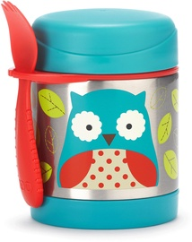 SkipHop Zoo Insulated Little Kid Food Jar Owl 252375
