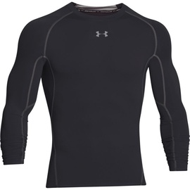 Under Armour Heatgear Compression Longsleeve 1257471-001 Black XXL