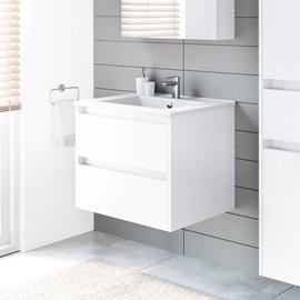 Шкаф для ванной Domoletti, белый, 45.5 x 59 см x 50 см