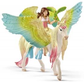 Schleich Bayala Movie Fairy Surah With Glitter Pegasus 70566