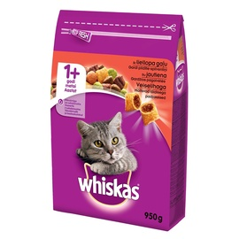 Whiskas Adult With Beef 950g