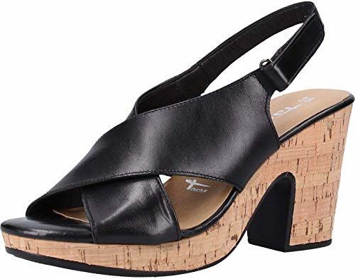 Tamaris Sandal 1-1-28364-22 Black Cork 40