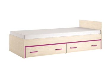 ML Meble Bonti 15 Bed Heather