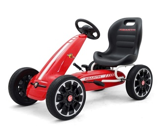 Milly Mally Viper Pedal Go-Kart Red
