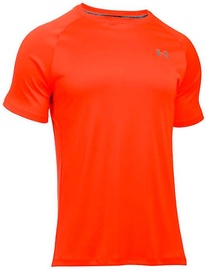 Under Armour Heatgear Run SS 1289681-296 Orange XL